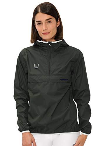 SPOOKS Damen Jacke, leichte Damenjacke mit Kapuze, Herbstjacke - Kaya Rain Jacket Olive xs
