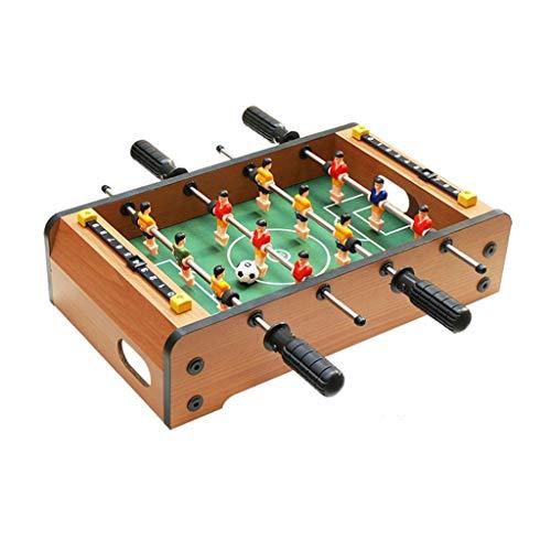 ZXQZ Futbolín Futbolín, Futbolín Doble, Máquina de Fútbol de Entretenimiento para Juegos de Interior con Marcador, Juegos de Mesa En Miniatura futbolines (Size : 34.5cm)