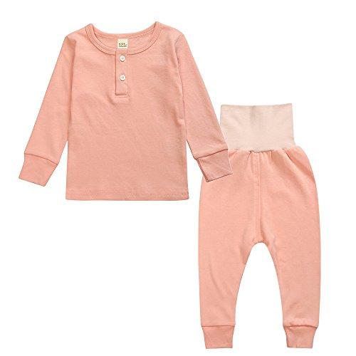 Paisdola Conjunto de Pijama para niños, Pijama de Manga Larga de algodón de Invierno, casa, Disfraz, Ropa de Noche