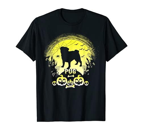 Holiday 365 Halloween PUG perro aterrador personalizado Camiseta