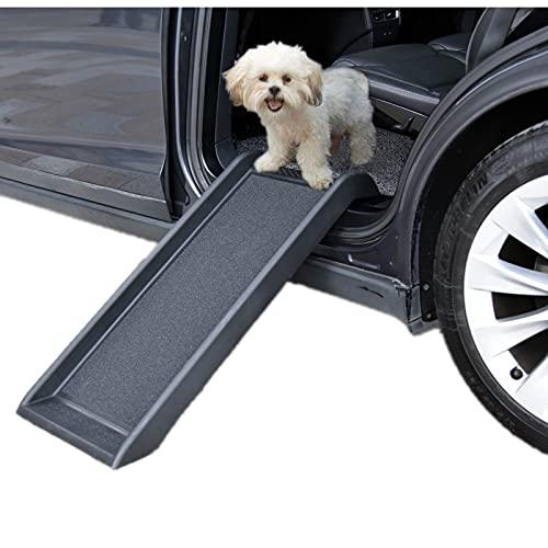 Sararoom Rampa per Cani da 40'Rampa per Animali Domestici per Cani di Piccola Taglia Rampa Leggera Portatile per Cani e Gatti