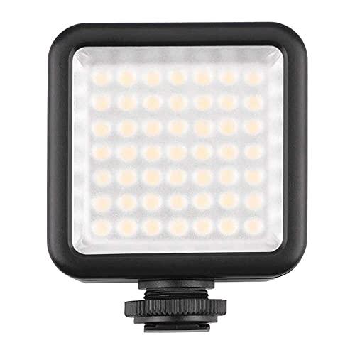 Yuyanshop Luz de llenado, fotografía universal 49LED lámpara de luz de relleno compatible con DJI OSMO compatible con GoPro Zhiyun Feiyu