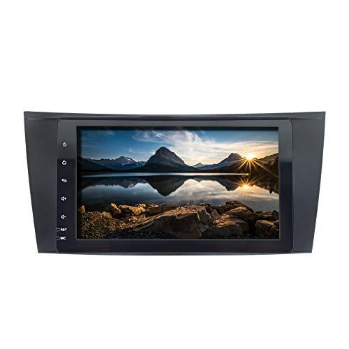 ZLTOOPAI Autoradio für Mercedes Benz E-Klasse W211 CLS W219 W463 Android 10 Doppel-DIN im Armaturenbrett 8-Zoll-IPS-Bildschirm Autoradio Audio Stereo-GPS-Navigation Car Player