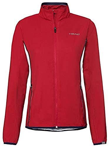 HEAD Damen Club Jacket W Tracksuits, red, XL