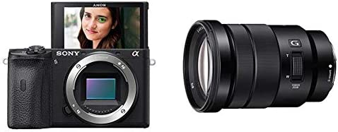 Sony Alpha A6600 Mirrorless Camera with Sony SELP18105G E PZ 18 105mm F4 G OSS product image