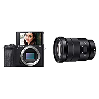 Sony Alpha A6600 Mirrorless Camera with Sony SELP18105G E PZ 18-105mm F4 G OSS