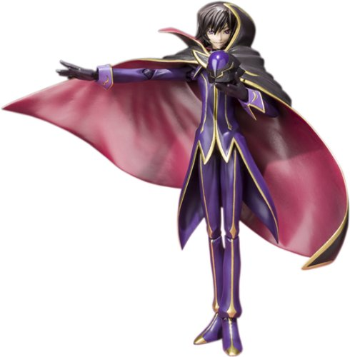 Code Geass R2 -Lelouch of the Rebellion- Lelouch (Zero) S.H. Figuarts Anime Figure