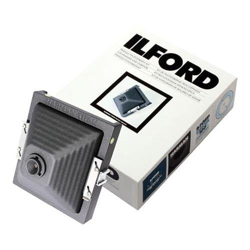 Ilford Direct Positive Harman Titan Pinhole Camera Kit with 72mm Wide-Angle Cone, Exposure Calculator