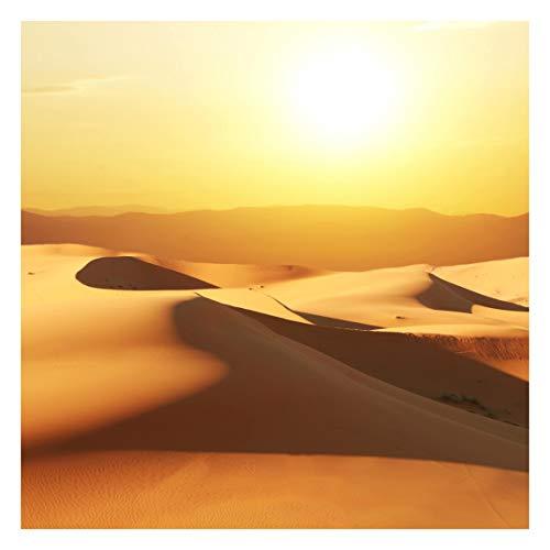 Tapete selbsthaftend - Die Wüste Saudi Arabiens Fototapete Quadrat 192x192 cm