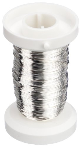 Gütermann / KnorrPrandell 6468713 - De Alambre en Rollo, de Plata de 0,4 mm [Importado de Alemania]