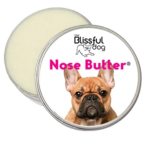The Blissful Dog Black Masked Fawn French Bulldog Nose Butter – Dog Nose Butter, 1 Ounce