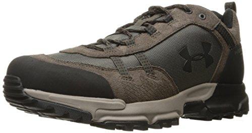Under Armour Men's Post Canyon Low Waterproof Hiking Boot, Maverick Brown (100)/Black, 8.5