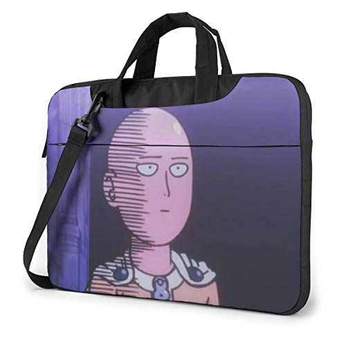 One-Punch Man Laptop Shoulder Bag Compatible with 13-15.6 inch Computer for MacBook Pro/MacBook Air/Notebook Computer
