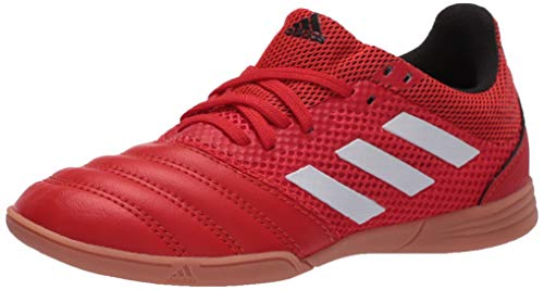 adidas Men's Copa 20.3 in Sala J Sneaker, Active Red/FTWR White/Core Black, 10.5 UK Child
