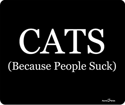 Katzen, weil Leute Mouse Pad von Atomic Market saugen