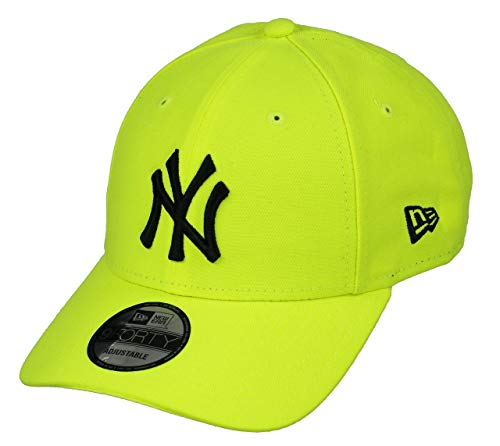 New Era New York Yankees MLB Cap New Era 9forty Baseball Verstellbar Neon Gelb - One-Size