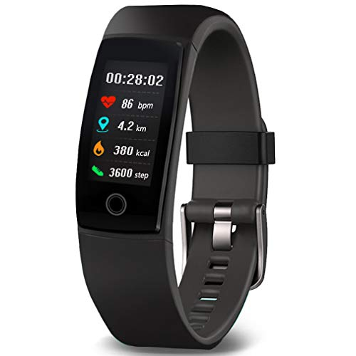Waterproof Health Tracker,MorePro Fitness Tracker Color Screen Sport Smart Watch,Activity Tracker with Heart Rate Blood Pressure Calories Pedometer Sleep Monitor...