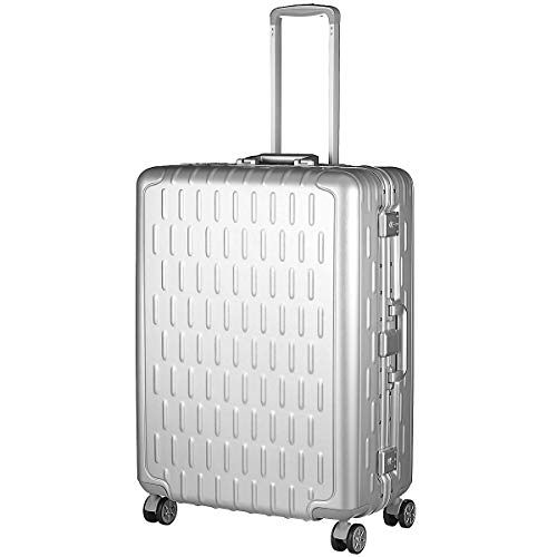 March 15 Discovery 4-roller trolley 76 cm L aluminium zilver