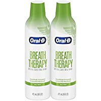 2-Pack Oral-B Breath Therapy Mouthwash Special Care Oral Rinse, 16 Fl Oz