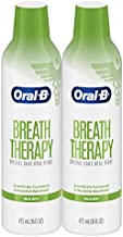 Oral-B Breath Therapy Mouthwash Special Care Oral Rinse, 16 Fl Oz, Pack of 2