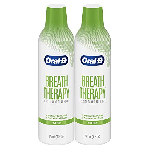 2-Pack Oral-B Breath Therapy Mouthwash Special Care Oral Rinse (16oz each)  $8.80 at Amazon