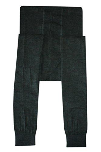 Weri Speciaal heren leggings met gulp wol in olijfgroen