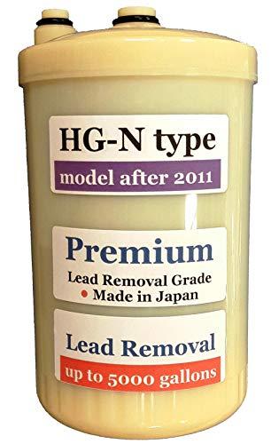 Japan Made 'HG-N' Type Premium Grade Compatible Filter for Enagic Kangen SD501HG-N 'HG-N' After 2011 Newer Model(Not Compatible with Original HG Before 2010 Models)