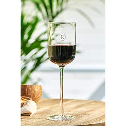 Riviera Maison - R-Red - Weinglas/Glas - Ø: 7cm x H: 26cm