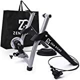ZenRoad Stationary Bike Trainer Stand - Magnetic Bicycle Trainer Roller with 6-Speed Level...