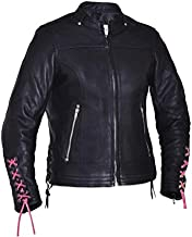 Unik International Ladies Ultra Motorcycle Leather Jacket 2XL