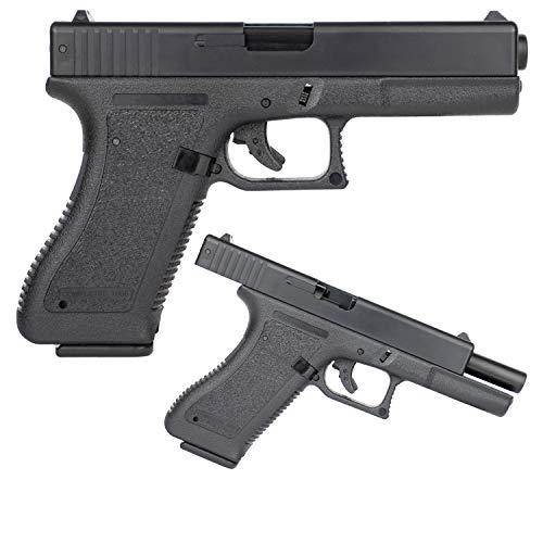 E Tac G17 Softair Pistole mit Schlittenfang <0,5J Kaliber 6mm BB Federdruck Airsoft