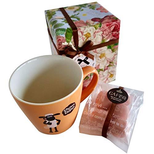 マグ&チョコレートセット (オレンジマグ)