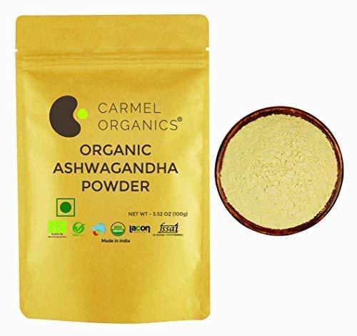 CARMEL ORGANICS Ashwagandha Powder 100 grams