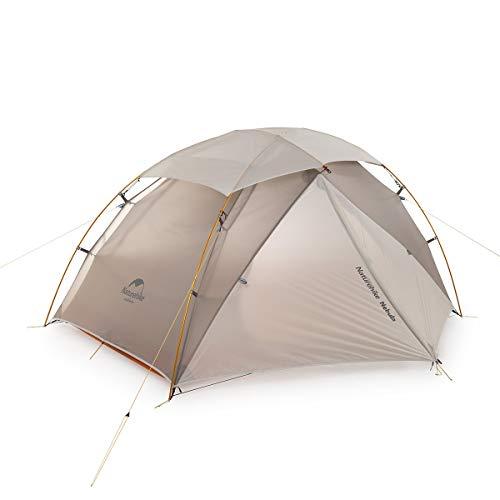 Tent Naturehike Nouvelle nébuleuse 2 Man de Camping, Ultraléger 20D Silicone en Nylon extérieur 2 Personnes de Camping