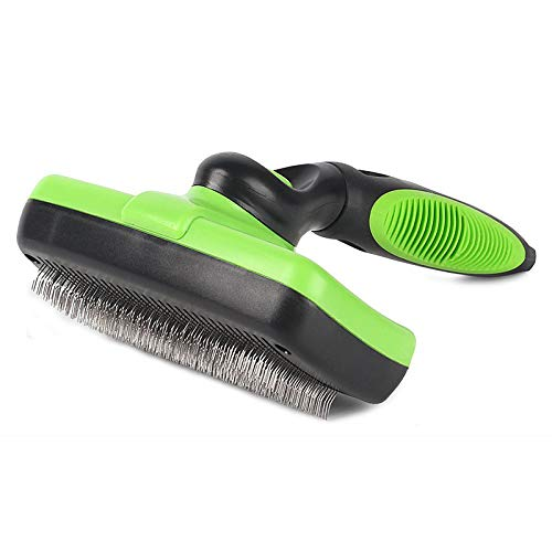 Hcpet Dog & Cat Brush Pet Grooming - Self Cleaning Slicker Brush, Pet Brush for Shedding and...