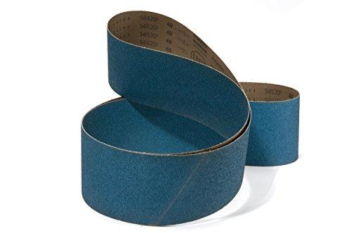 /grano 80 10/unidades, 9.97/Euro//cad Cinta est/ándar de lienzo Lija de circonio dimensiones 2000/x 75/mm 49/variantes, a partir de 5.50/Euro//cad /