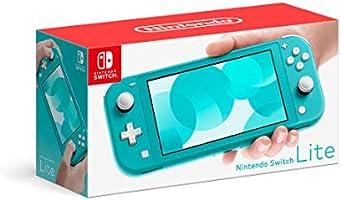 Nintendo Switch Lite Console, Turquoise (Nintendo Switch)