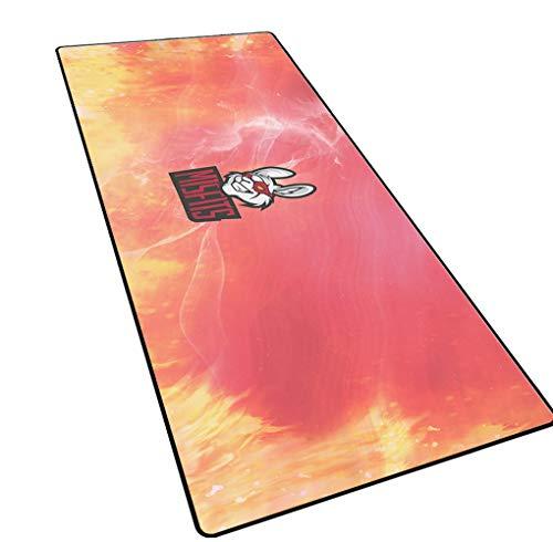 CAERTU Game Muismat,Laptop Pad - B,Anti-Slip Natuurlijke Rubber,Waterdichte Tafelmat Uitgebreid Muismat Kantoor