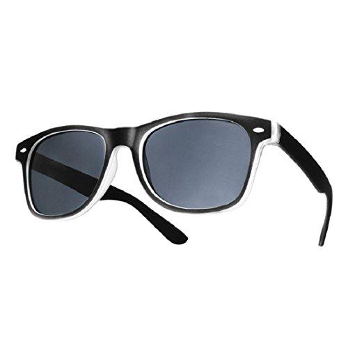 4soldDamen gafas de sol negro Universal, Black rubi,