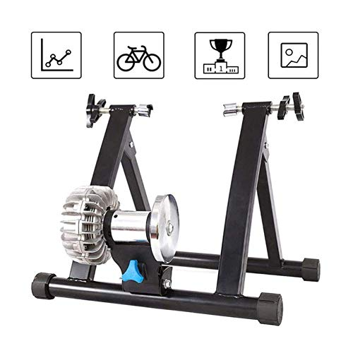 Portle Fluid Bike Trainer Stand, Indoor Exercise Bike Trainer Stand, Noise Reduction,Stationary Exercise for Road & Mountain Bikes