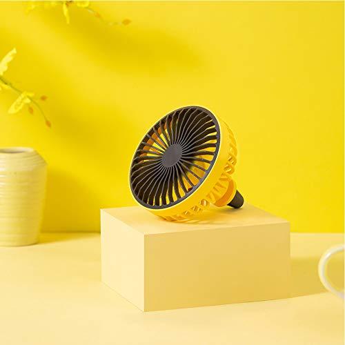 FairOnly Auto Luchtuitlaat Ventilator USB Draagbare Mini Ventilator Auto Schoonmaak en Renovatie Producten Geel