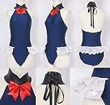 【ミドリ屋】マリー・ローズレオタード紺コスプレ用衣装 高級 cosplay 女性S