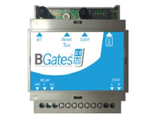 BGates GT - Designed in Italy 100{2764221b9a0491a22e22ae3584f5cd839cb9b872413e5963bade8c7a4c8316aa} - Öffnen Sie das elektrische Tor mittels GSM gratis Telefonanruf oder APP Business Android IOS - 230 V - 50/60 Hz