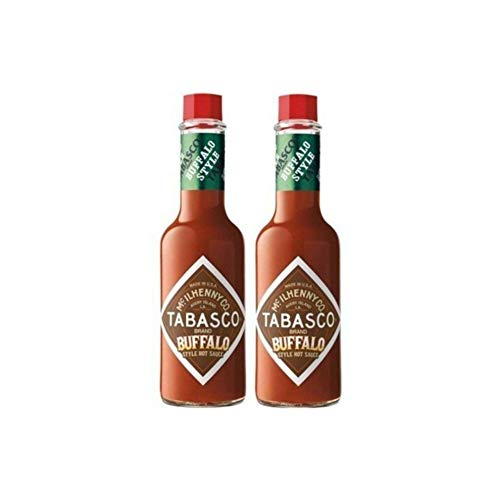 "2 Pack: ""New"" McIlhenny's Tabasco Brand Buffalo Style Hot Sauce - 5 Oz."