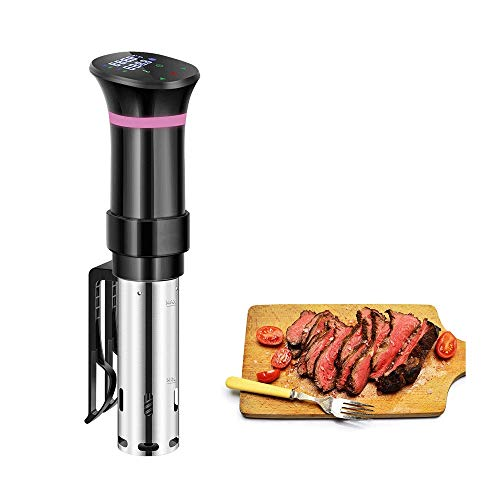 HWZQHJY 1000W Sous Vide Cooker,Stainless Steel Immersion Circulator Sous Vide Machine Accurate Temperature And Timer Control,LCD Display Cooking Machine
