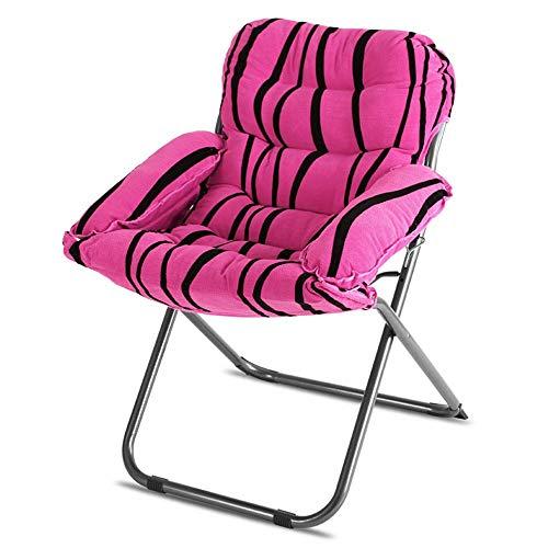 QTQZHH Klapp Computer Stuhl Sofa Stuhl Mode faul Sofa Matratze Stühle können Liegen Freizeit Home Rückenstütze Schlitten faul Sofa (eine Vielzahl von Farben optional) (Farbe: # 2)