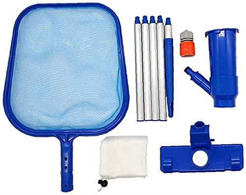 Pool Nettoyage Kit Skimmer Net Kit Piscine Feuille Skimmer Set Pond Nettoyage Outil Piscine Piscine Fontaine Fontaine Réservoir pour piscines Hors Sol