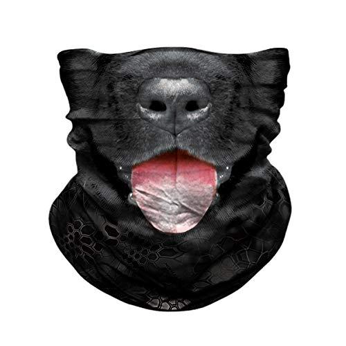 JOEYOUNG Seamless Face Mask for Men Women - Animal Hunting Half Face Mask, Fishing Scarf, 3D Neck Gaiter UV Sun Mask, Bandanas Balaclava for Motorcycle Riding Skiing, Dust Tube Mask Headwear