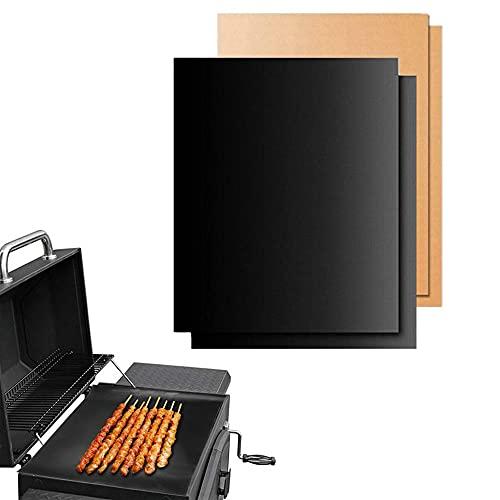 Throushine Mondschaufel BBQ-Vorleger des Grillen & Backen (2, Schwarz)