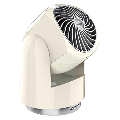 Vornado Flippi V10 Compact Oscillating Air Circulator Fan, Vintage White